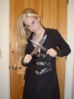 ..Knife Girl 2.. by Bloody-Kisses-STOCK