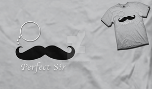 Perfect Sir Shirt by AngryBlueJay