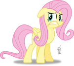 Fluttershy Is Scared by MLP-Scribbles