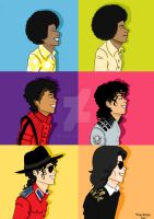 The many faces of MJ by MichiieJackson