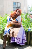 Cremia and Romani from Majora's Mask by memoire-hana