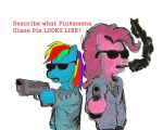 Pulp Fiction Ponies1 by TheNorthRemembers3