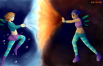Water vs Fire by CeraSo36