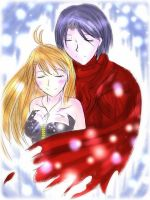 .: Kevin and Shion- Happiness :. by Monstrocker