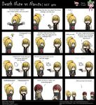 Dei and Mello comic: NOT girls by GIPeStEl