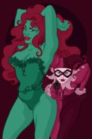Harley and Ivy by Daaakota