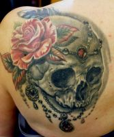 Lady Skull all healed by Sean Ambrose by seanspoison