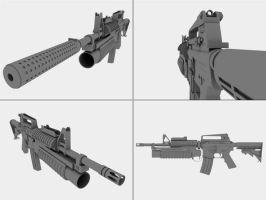 M4 Carbine by 3DFunkee