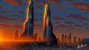 Eternal Towers by LordDoomhammer