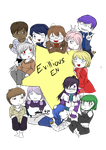 [Evillious Chronicles EN] Big Thing Of Chibis by PsySoubi