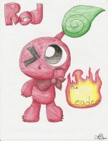 Red Pikmin by Chenanigans
