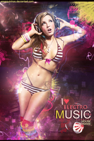 I love Electro Music by xMarquinhos