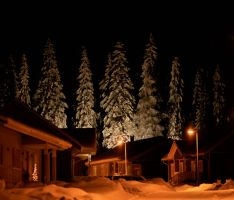 The view of my street by KariLiimatainen