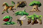 Sprite Nature Characters by DAA-TRUTH