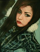 Taryn my painting by cliford417