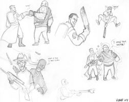 TF2 doodlin's by Kobb