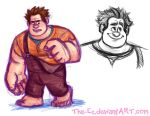 Ralph Sketchies by The-Ez