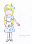 Cyborg Alice by hopeandlight4everas1