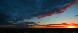 Sunset in Billings, MT by RyanColes