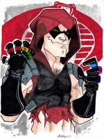 Zartan with all the rings by misfitcorner