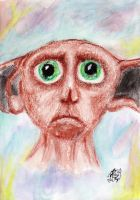 Dobby the Free House-elf by Fantaasiatoidab