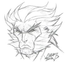Logan SKETCH 2012 by LucasAckerman