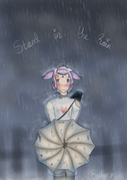 Stand in the rain by Chickadee-chii