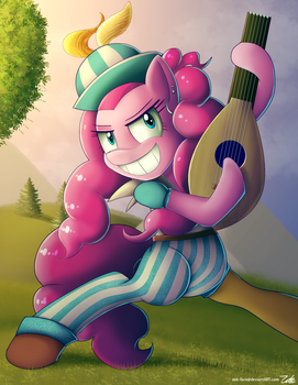 Pinkie Bard by zelc-face