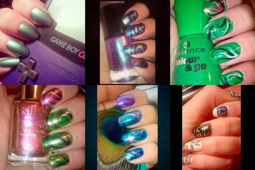 Nail art (part 7) by Rossally