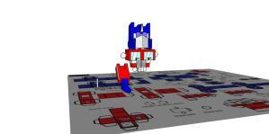 Lil Optimus In 3d 3 by Lilscotty