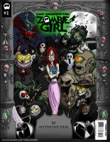 Zombie Girl 01- Variant Cover by Gummibearboy