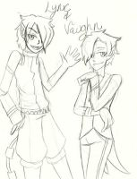 Lync And Vaughn by Blue-Fire-likes-pie