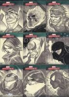 Marvel Masterpieces III Set 4 by jeffwamester
