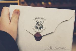 Hogwarts Letter by bloodonthemoon5