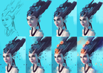 PROCESS: The Sweet Delusion by Sandramalie