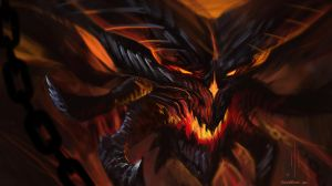 Diablo 3 fan speedpaint by Sickbrush