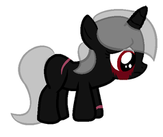 Noxia- Sad Filly by TargetGirl