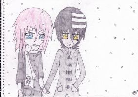 Kid X Crona Winter by KAC-N
