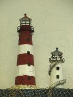 Little Lighthouse Decorations by FantasyStock