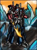 Movie Optimus Prime: Energon by Kiarou