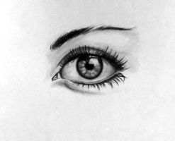 Eye practice. by Chipperface