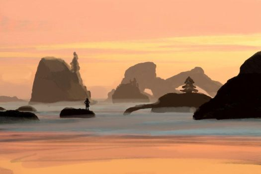 Island Concept 2 Speed Paint by PBTGOART