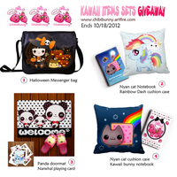 Kawaii items sets giveaway by tho-be