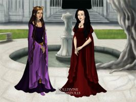 Evil Queen Jealous of Snow White by Kailie2122