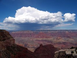 North Rim Rain by TarryAGoat