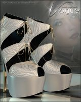Vogue for Head Over Heels Shoes by cosmosue