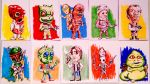 Star Wars Alphabet A-J Sketch Cards by siebo7