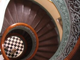 Spiral Staircase by IlovetheCasualties