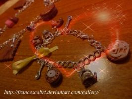 Bracciale con pasticcini - Bracialet with sweets by FrancescaBrt