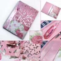 Second rose notebook by SweetCandyDreams